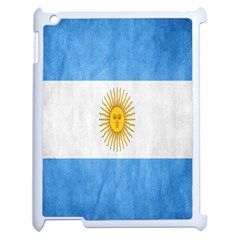 Argentina Texture Background Apple Ipad 2 Case (white) by Simbadda
