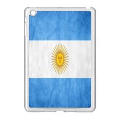 Argentina Texture Background Apple Ipad Mini Case (white) by Simbadda