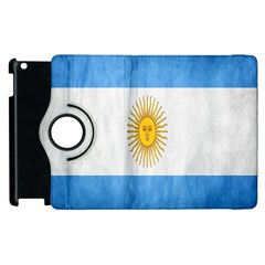 Argentina Texture Background Apple Ipad 2 Flip 360 Case by Simbadda