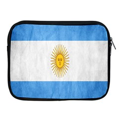 Argentina Texture Background Apple Ipad 2/3/4 Zipper Cases by Simbadda