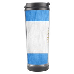 Argentina Texture Background Travel Tumbler