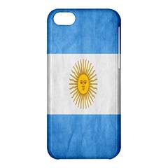 Argentina Texture Background Apple Iphone 5c Hardshell Case by Simbadda