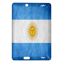 Argentina Texture Background Amazon Kindle Fire Hd (2013) Hardshell Case by Simbadda