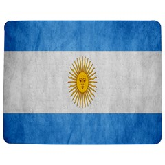 Argentina Texture Background Jigsaw Puzzle Photo Stand (rectangular) by Simbadda