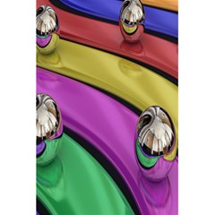Balloons Colorful Rainbow Metal 5 5  X 8 5  Notebooks by Simbadda