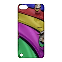 Balloons Colorful Rainbow Metal Apple iPod Touch 5 Hardshell Case with Stand by Simbadda