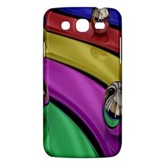 Balloons Colorful Rainbow Metal Samsung Galaxy Mega 5 8 I9152 Hardshell Case  by Simbadda