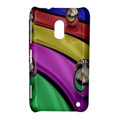 Balloons Colorful Rainbow Metal Nokia Lumia 620 by Simbadda