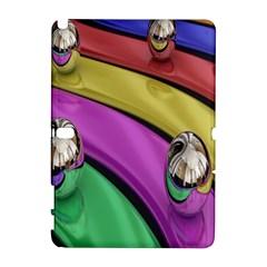 Balloons Colorful Rainbow Metal Galaxy Note 1 by Simbadda