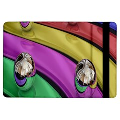 Balloons Colorful Rainbow Metal Ipad Air Flip by Simbadda