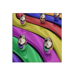 Balloons Colorful Rainbow Metal Satin Bandana Scarf by Simbadda