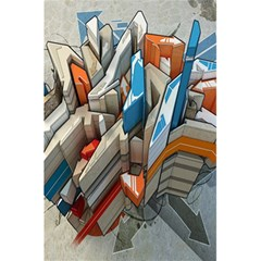 Abstraction Imagination City District Building Graffiti 5 5  X 8 5  Notebooks by Simbadda