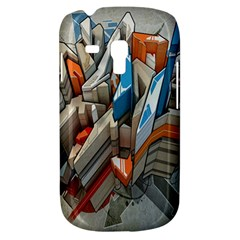 Abstraction Imagination City District Building Graffiti Galaxy S3 Mini by Simbadda