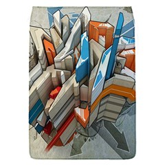 Abstraction Imagination City District Building Graffiti Flap Covers (s)  by Simbadda