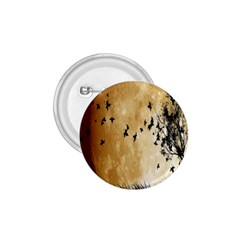 Birds Sky Planet Moon Shadow 1 75  Buttons by Simbadda