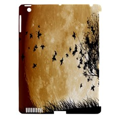 Birds Sky Planet Moon Shadow Apple Ipad 3/4 Hardshell Case (compatible With Smart Cover) by Simbadda
