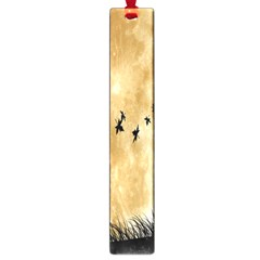 Birds Sky Planet Moon Shadow Large Book Marks by Simbadda