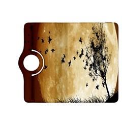 Birds Sky Planet Moon Shadow Kindle Fire Hdx 8 9  Flip 360 Case by Simbadda