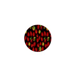 Berry Strawberry Many 1  Mini Buttons by Simbadda