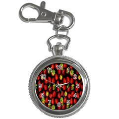 Berry Strawberry Many Key Chain Watches by Simbadda