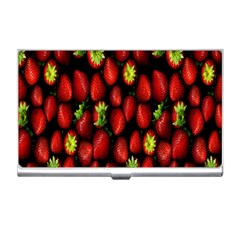 Berry Strawberry Many Business Card Holders by Simbadda