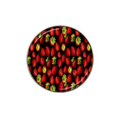 Berry Strawberry Many Hat Clip Ball Marker (4 Pack) by Simbadda