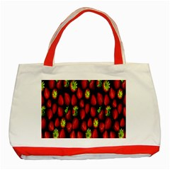 Berry Strawberry Many Classic Tote Bag (red) by Simbadda