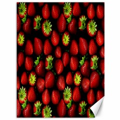 Berry Strawberry Many Canvas 36  X 48   by Simbadda