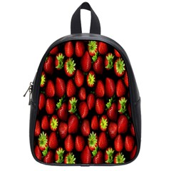 Berry Strawberry Many School Bags (small)  by Simbadda