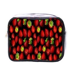 Berry Strawberry Many Mini Toiletries Bags by Simbadda