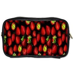 Berry Strawberry Many Toiletries Bags by Simbadda
