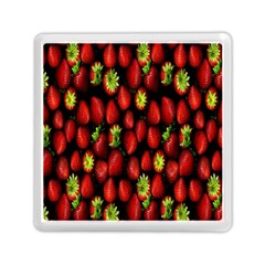 Berry Strawberry Many Memory Card Reader (square)  by Simbadda