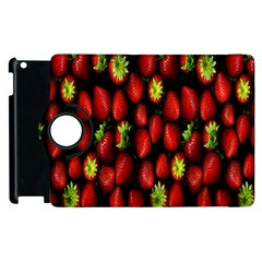 Berry Strawberry Many Apple Ipad 2 Flip 360 Case by Simbadda