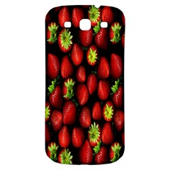 Berry Strawberry Many Samsung Galaxy S3 S Iii Classic Hardshell Back Case by Simbadda