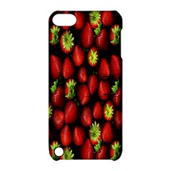 Berry Strawberry Many Apple Ipod Touch 5 Hardshell Case With Stand by Simbadda