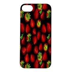 Berry Strawberry Many Apple Iphone 5s/ Se Hardshell Case by Simbadda