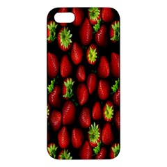 Berry Strawberry Many Iphone 5s/ Se Premium Hardshell Case by Simbadda