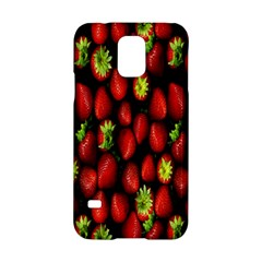 Berry Strawberry Many Samsung Galaxy S5 Hardshell Case  by Simbadda