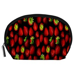 Berry Strawberry Many Accessory Pouches (large)  by Simbadda