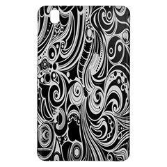 Black White Pattern Shape Patterns Samsung Galaxy Tab Pro 8 4 Hardshell Case by Simbadda
