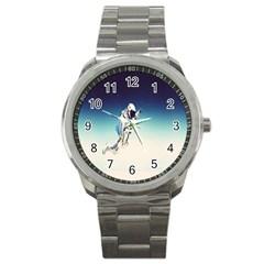 Astronaut Sport Metal Watch by Simbadda