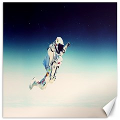 Astronaut Canvas 16  X 16   by Simbadda