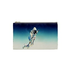 Astronaut Cosmetic Bag (small)  by Simbadda