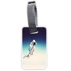 Astronaut Luggage Tags (two Sides) by Simbadda