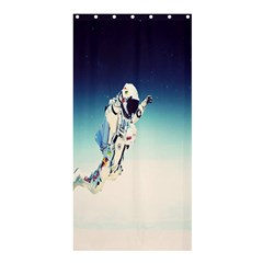 Astronaut Shower Curtain 36  X 72  (stall)  by Simbadda