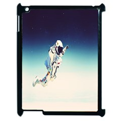 Astronaut Apple Ipad 2 Case (black) by Simbadda