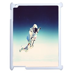 Astronaut Apple Ipad 2 Case (white) by Simbadda