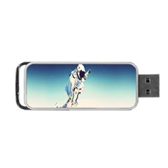 Astronaut Portable Usb Flash (one Side) by Simbadda