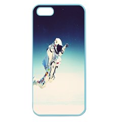 Astronaut Apple Seamless Iphone 5 Case (color) by Simbadda