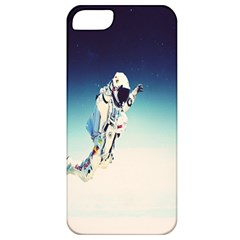 Astronaut Apple Iphone 5 Classic Hardshell Case by Simbadda